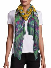 Etro Printed Cashmere & Silk Scarf  Made in Italy