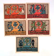1922 Germany GOSLAR   set of  2 Mark Notgeld