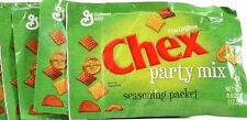 4 The Original Chex Party Mix Seasoning Packets Make Snack Food .62 oz Each