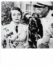 """Patricia Neal  ( & John Wayne in """"Operation Pacific"""" 8x10) Autographed Photo"""