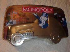 MONOPOLY BOARD GAME ~ COLLECTOR'S EDITION ~ CAR TIN ~ 2001 *FACTORY SEALED
