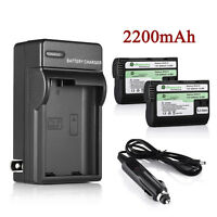 Li-Ion EN-EL15 Battery + Charger for Nikon SLR D7100 D7000 D7200 D600 D610 D750