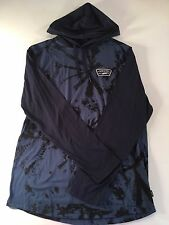 VANS New Milner Long Sleeve Hooded T-shirt Mens Size Medium