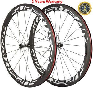 50mm Carbon Wheels DT350s Hub Road Bike Cycling Racing Wheelset 700C Shimano Hub