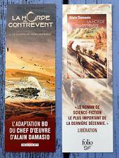Marque-pages cartonné La horde du contrevent, Eric Henninot - Alain Damasio,