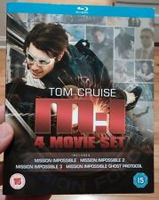 Mission Impossible 1-4 Movie Collection Blu-Ray Box Set-BrandNEW - Free Shipping