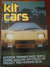 Kit Cars May 1982 GP Madison Roadster