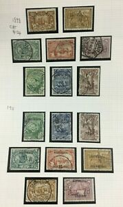 MOMEN: PORTUGAL 1898/1911 USED CAT. $124 LOT #4217