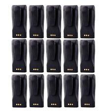 15 Pack Battery for Motorola Radio CP040 CP140 CP160 CP180 as NNTN4496/NNTN4497