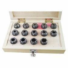 110282 ER25 ER32 ER40 Collet Chuck Set 7PCs to 22PCs CNC Lathe Milling Tool