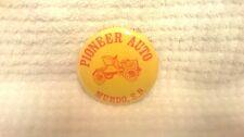 Pioneer Auto Murdo, South Dakota 1980's pin back button