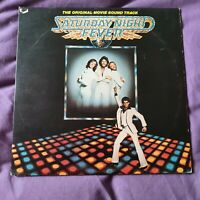 BEE GEES VARIOUS Saturday Night Fever SOUNDTRACK UK Vinyl LP EXCELLENT CONDITION