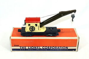 Postwar Lionel 2560 Crane Car~All Original~w/Nice OB