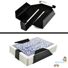 Deck Holdout Playing Card Dropper Switch Clip Box Holder Pack Case Magic Trick