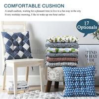 "17"" Sofa Seat Cushion Soft Chair Pad Mat Dining Garden Patio Furniture Padde US"