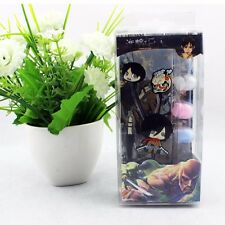 Japan Anime Attack on Titan Cute Mika Earphones In-Ear Headset + 3 Pairs Earbuds