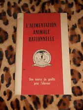 BROCHURE - L'alimentation animale rationnelle