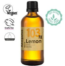 Naissance Lemon Essential Oil 100ml  Use in Aromatherapy, Massage Blend