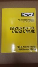 Motor Emission Control Service & Repair Domestic Imported 1966-82