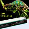 T8 Pet Reptile Vivarium Terrarium Fluorescent Tube Light Lamp UVB Bulb & Holder