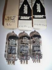 Vintage (3) Trio ECC40 USED Tubes