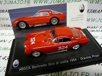 MAS27S voiture 1/43 LEO model MASERATI A6GCS berlinetta Giro di Sicilia 1954 324