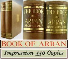 BOOK OF ARRAN*HISTORY*FOLKLORE*SCOTTISH EMIGRATION*GAELIC*ARCHAEOLOGY*GEOLOGY