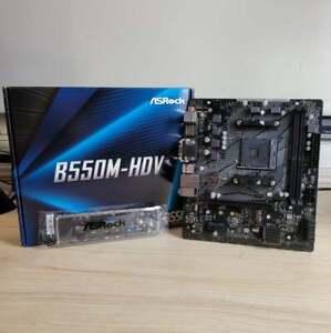 ASRock B550M-HDV AM4 Micro-ATX Motherboard