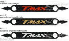 ADESIVO 3D ergal PROTEZIONE MARMITTA SCARICO per YAMAHA TMAX 500-530 dal 2008-16