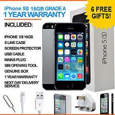 Apple iPhone 5s - 16 GB - Space Grey (Unlocked) - Grade A