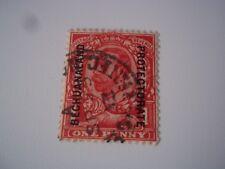 Bechuanaland Scott# 82 stamp. Used.
