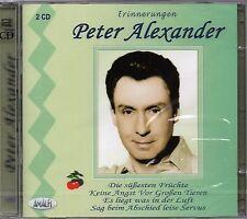 PETER ALEXANDER - Erinnerungen     2-CD    NEU&OVP/SEALED!