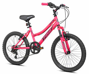 "20"" Kids Mountain Bike Girls Bicycle 20 Inch MTB Cycling Wheels Pink For 42""-5"