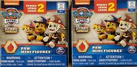 Lot of 2 Nickelodeon Paw Patrol Series 2 Mini Figures Blind Box mystery  NEW