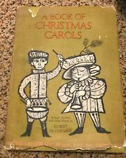 A Book of Christmas Carols - deCormier - First Edition 1963 Hardcover