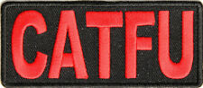 CATFU - COMPLETE AND TOTAL F*CK UP - IRON or SEW ON PATCH