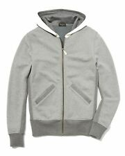 €1305 BERLUTI Hoodie Size XL Leather & Knitted Insert Melange Effect Two Tone