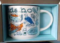 NEW Idaho Starbucks Been There Series You Are Here Coffee Mug 14oz Cup Full Size