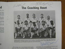 1981 NEW MEXICO HIGHLANDS Football Program (signed by 11 w/FRED BLEIL(Died-2011)