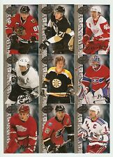 2008 Hockey UD 20th anniversary lot of 9, Orr, Gretzky, Price...