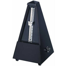Wittner Wood Key Wound Metronome Black 806m - New -With Free Extended Warranty