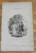 1817 Antique Print/DISCOVERY/Table Talk