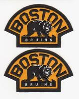 2 NHL BOSTON BRUINS SHOULDER PATCH / PATCHES THE GAME WINING PATCH 2010/2011