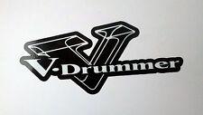 Roland V-Drum V-DRUMMER Sticker Decal TD