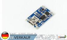 MINI USB LiPo LEONE Batteria Modulo di caricamento con protezione TP4056