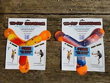2 sets of Tri-Fly Beginner Boomerang and bonus indoor boomerangs. Save money!
