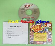 CD MITI DEL ROCK LIVE 9 MUSICAL BOX compilation 1993 GENESIS (C31) no mc lp vhs