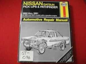 1980-1991 NISSAN/DATSUN PICK-UPS & PATHFINDER 2 & 4 WHEEL DRIVE REPAIR MANUAL
