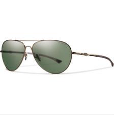 Smith Audible Sunglasses - Polarized Matte Gold/Gray Green, Brand New