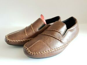Brand new men's boys slip on moccasin loafers shoes casual walk - Bargain